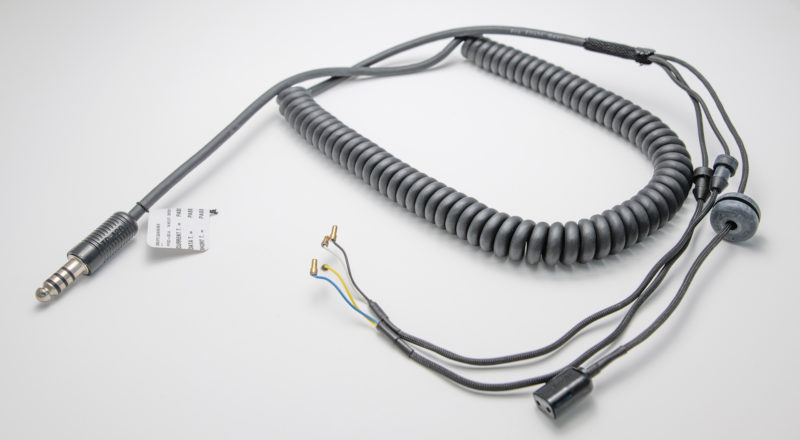 3' coiled down lead Alpah